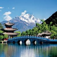 ca. 2004, Lijiang, China --- Black Dragon Pool in Lijiang --- Im