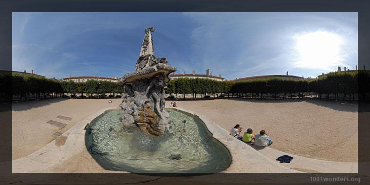 Panography in print mode : Place d'Alliance